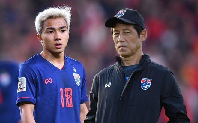 Tuyển Thái Lan gặp mối lo lớn vì nguy cơ vắng 4 trụ cột ở vòng loại World Cup