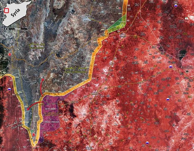 Tái chiếm Saraqeb, chặt đứt cao tốc M5: Thổ sập bẫy Nga-Syria, chiến thắng chẳng tày gang? - Ảnh 4.