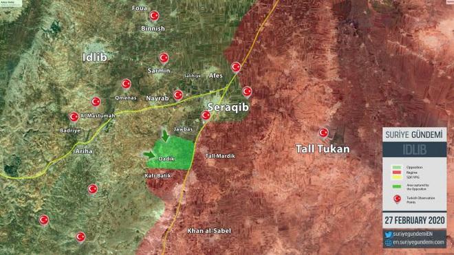 Thổ bẻ gãy không thương tiếc công thức hỏa lực Nga + binh lực Syria: Bài học xương máu - Ảnh 1.