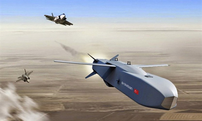 [ẢNH] Dùng siêu tên lửa SOM-J, Thổ Nhĩ Kỳ sẽ vô hiệu hóa mạng lưới phòng không tại Syria - ảnh 11
