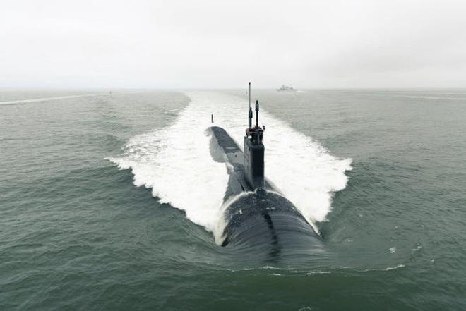 Siêu tàu ngầm hạt nhân Mỹ mới hạ thủy đã bị nước biển lột vỏ - ảnh 15