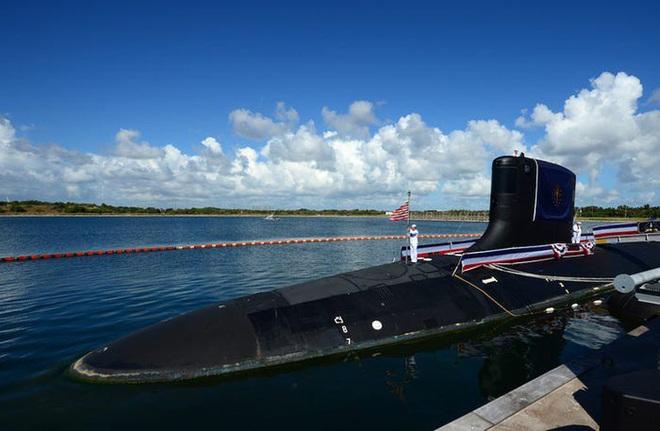 Siêu tàu ngầm hạt nhân Mỹ mới hạ thủy đã bị nước biển lột vỏ - ảnh 16