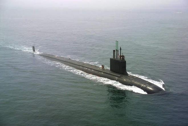 Siêu tàu ngầm hạt nhân Mỹ mới hạ thủy đã bị nước biển lột vỏ - ảnh 17