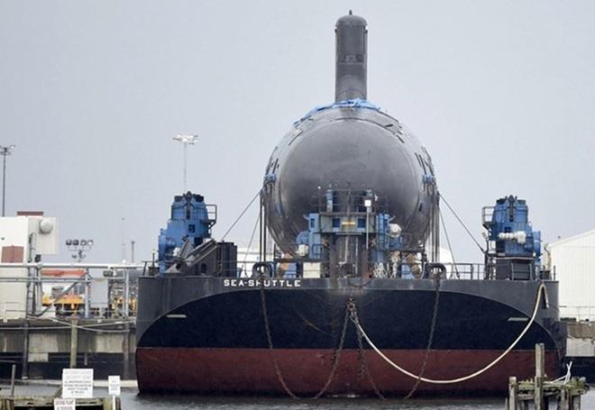 Siêu tàu ngầm hạt nhân Mỹ mới hạ thủy đã bị nước biển lột vỏ - ảnh 4