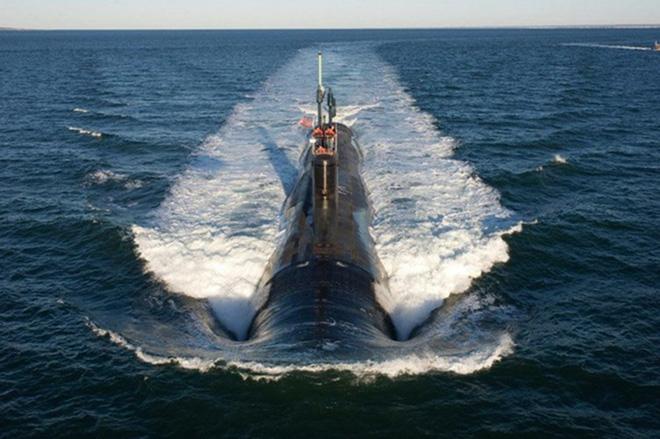 Siêu tàu ngầm hạt nhân Mỹ mới hạ thủy đã bị nước biển lột vỏ - ảnh 6