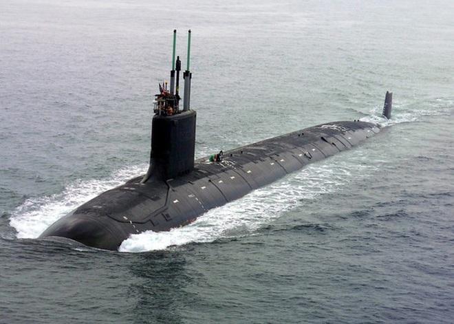 Siêu tàu ngầm hạt nhân Mỹ mới hạ thủy đã bị nước biển lột vỏ - ảnh 7