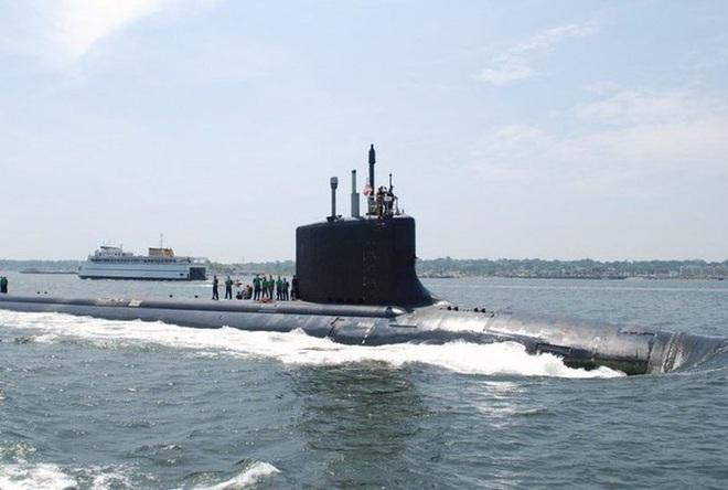 Siêu tàu ngầm hạt nhân Mỹ mới hạ thủy đã bị nước biển lột vỏ - ảnh 8