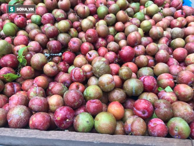 Kiếm tiền triệu mỗi ngày nhờ bán rong quả xanh đầu mùa - Ảnh 10.