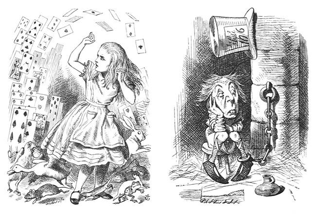Logic phía sau những bức họa của Sir John Tenniel - người được Nữ hoàng Anh phong tước Hiệp sĩ - Ảnh 7.
