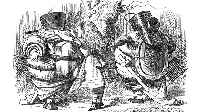 Logic phía sau những bức họa của Sir John Tenniel - người được Nữ hoàng Anh phong tước Hiệp sĩ - Ảnh 5.