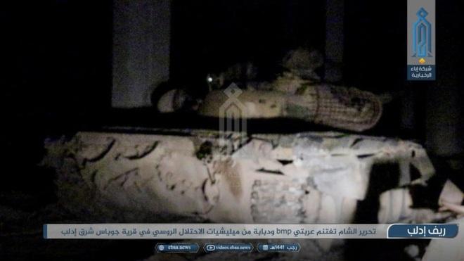 Phiến quân do Thổ Nhĩ Kỳ hậu thuẫn tóm sống loạt xe tăng T-90A, T-72, T-55 của QĐ Syria - Ảnh 3.