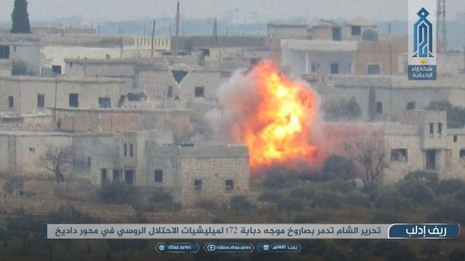 Thổ Nhĩ Kỳ tấn công trả đũa phá hủy 23 xe tăng, 5 trực thăng,  18 xe thiết giáp Syria - NATO họp khẩn cấp - Ảnh 2.