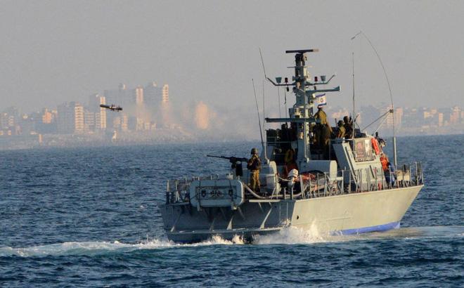 Dải Gaza: Nghẹt thở cảnh Hải quân Israel truy đuổi tàu buôn lậu vũ khí của Hamas