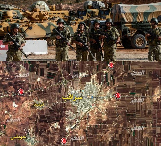 Chiến sự Syria: Đưa lưỡi dao phẫu thuật bóc tách 4 cứ điểm QĐ Thổ, Sư 25 đại thắng? - Ảnh 1.