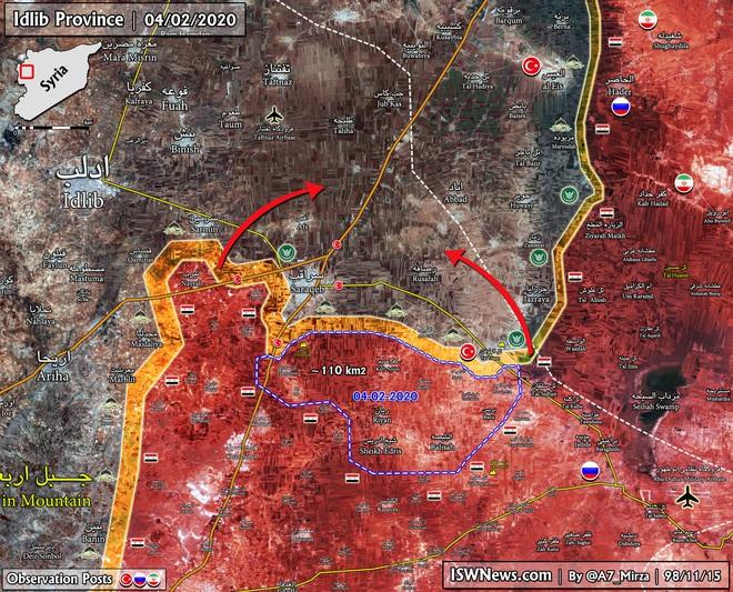 Được UAV chỉ điểm, Không quân Nga tung đòn thần sầu diệt cứ điểm phiến quân Syria - Ảnh 1.