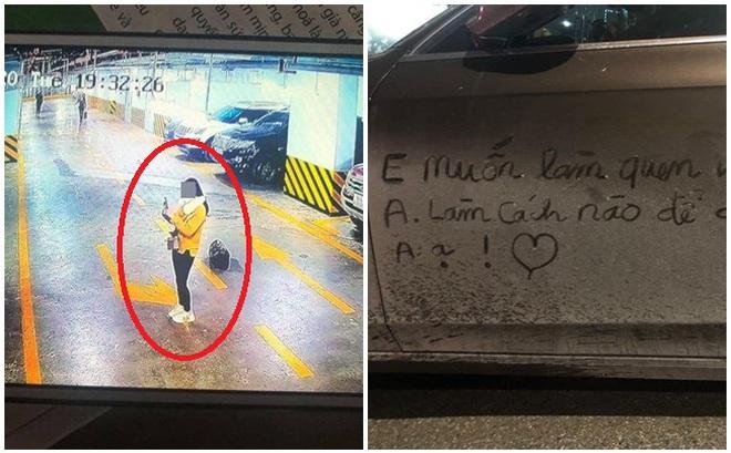 Viết lời nhắn làm quen lên thân Audi tiền tỷ, cô gái bị vợ chủ xe đăng lên tìm kiếm