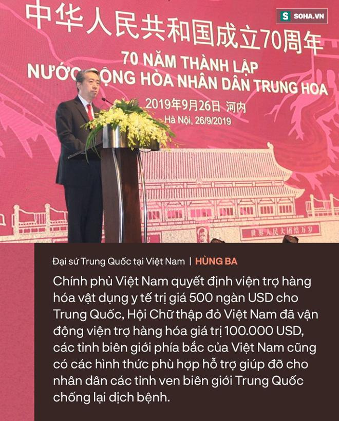 Đại sứ Trung Quốc Hùng Ba cảm ơn Việt Nam tương trợ trong cuộc chiến đẩy lùi dịch virus corona - Ảnh 4.