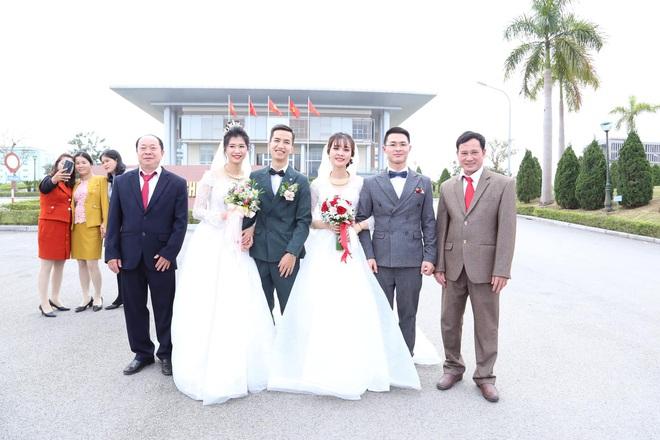Đang chụp ảnh giữa đường, gặp đoàn rước dâu khác, cô dâu - chú rể liền có hành động đặc biệt - Ảnh 4.