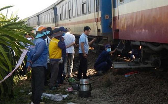 Tàu SE25 gặp sự cố trật đường ray tại Bình Thuận, đường sắt Bắc – Nam bị ngưng trệ