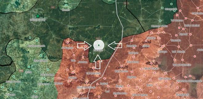 Sau tối hậu thư, Quân đội Syria khép chặt vòng vây Saraqib: Thổ Nhĩ Kỳ lâm vào đường cùng? - Ảnh 1.