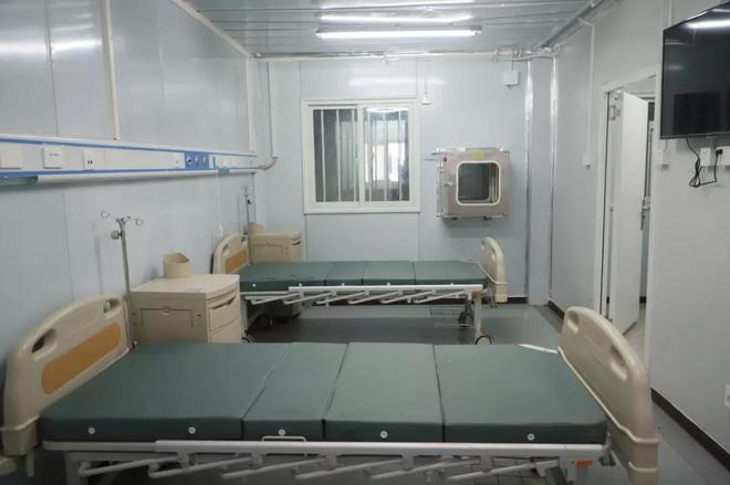 Sau 10 ngày đêm thần tốc, Vũ Hán nghiệm thu bệnh viện dã chiến thứ 2 Lôi Thần Sơn  - Ảnh 3.