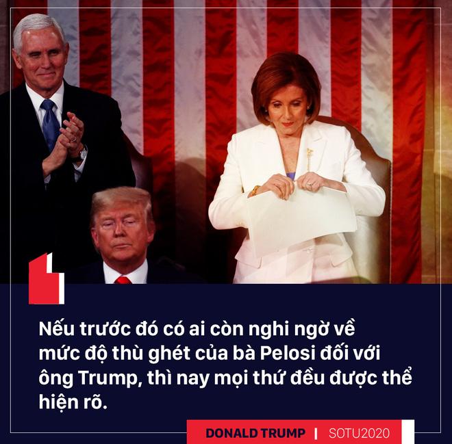 Thông điệp liên bang: Bài hùng biện đanh thép của ông Trump cho cuộc đua tái tranh cử - Ảnh 4.