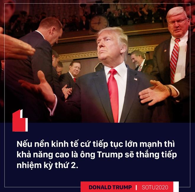 Thông điệp liên bang: Bài hùng biện đanh thép của ông Trump cho cuộc đua tái tranh cử - Ảnh 7.
