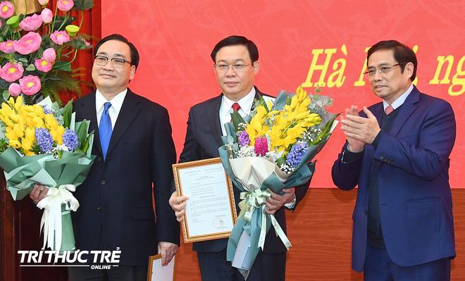 Phó Thủ tướng Vương Đình Huệ làm Bí thư Thành ủy Hà Nội - Ảnh 4.