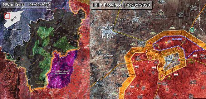 Cháy nhà ra mặt chuột: Saraqeb sụp đổ, lộ diện thế lực đang giải vây cho khủng bố Syria? - Ảnh 1.