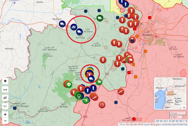 Xe tăng Thổ Nhĩ Kỳ ầm ầm tiến vào Idlib: Tổng thống Erdogan không ngại chiến tranh với Syria? - Ảnh 1.