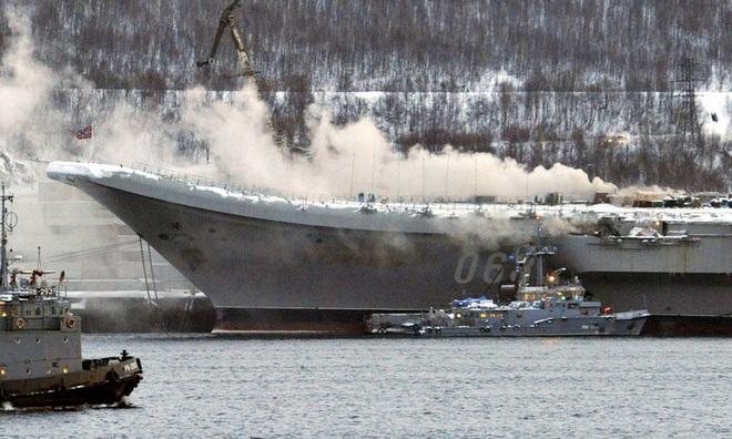 Tiết lộ sốc về vụ cháy tàu sân bay Đô đốc Kuznetsov của Nga: Thảm họa thật sự? - Ảnh 3.