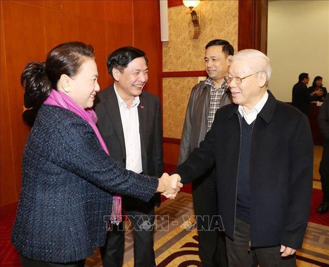 Tổng Bí thư, Chủ tịch nước Nguyễn Phú Trọng chủ trì họp Tiểu ban Văn kiện Đại hội XIII - Ảnh 5.