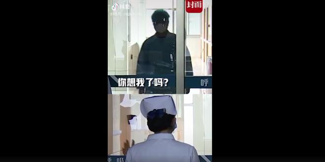[Câu chuyện cảm động] Anh có nhớ em không?: Nữ y tá bật khóc nhìn chồng qua cánh cửa kính cách li - Ảnh 3.