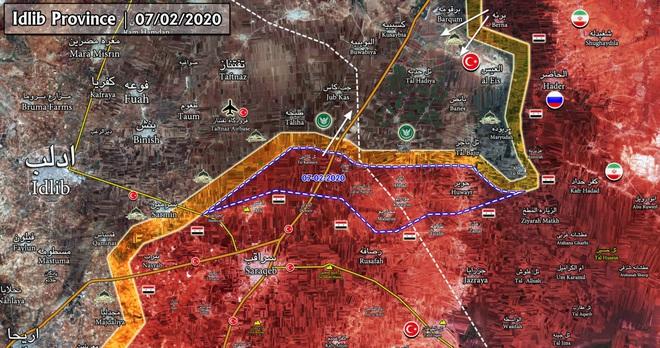 Các nhóm khủng bố ồ ạt tháo chạy, bỏ rơi hàng trăm lính Thổ sập bẫy ở Idlib? - Ảnh 3.