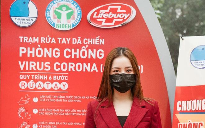 Cùng Chi Pu nhảy Ghen Cô Vy gây quỹ xây dựng 100 trạm rửa tay dã chiến Lifebuoy miễn phí