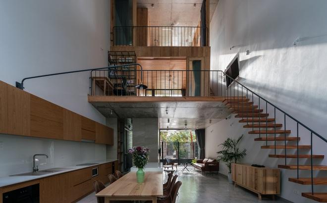 Lạ mắt với ngôi nhà được thiết kế trông như mảnh ruộng bậc thang tại Quy Nhơn