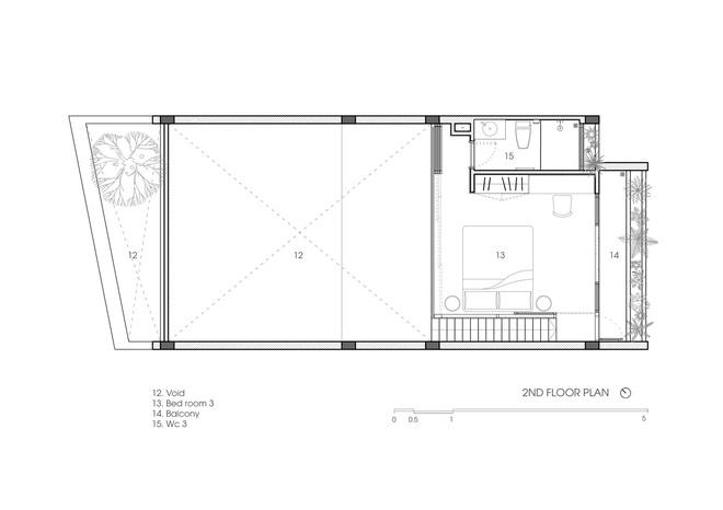 Lạ mắt với ngôi nhà được thiết kế trông như mảnh ruộng bậc thang tại Quy Nhơn - Ảnh 17.