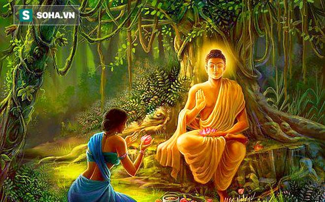 Mời Đức Phật đến nhà, cô gái bị coi là lẳng lơ, song chỉ với 1 câu hỏi Ngài đã hóa giải được tình thế