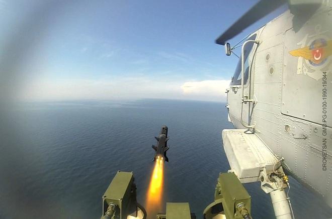 Tên lửa sát thủ L-UMTAS của Thổ Nhĩ Kỳ khiến hàng loạt khí tài Syria bốc cháy - Ảnh 8.