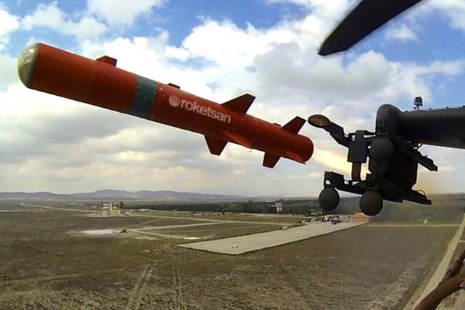 Tên lửa sát thủ L-UMTAS của Thổ Nhĩ Kỳ khiến hàng loạt khí tài Syria bốc cháy - Ảnh 10.