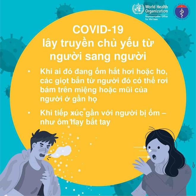 Bộ Y tế khuyến cáo: 5 cách giảm nguy cơ bị nhiễm Covid-19 - Ảnh 1.