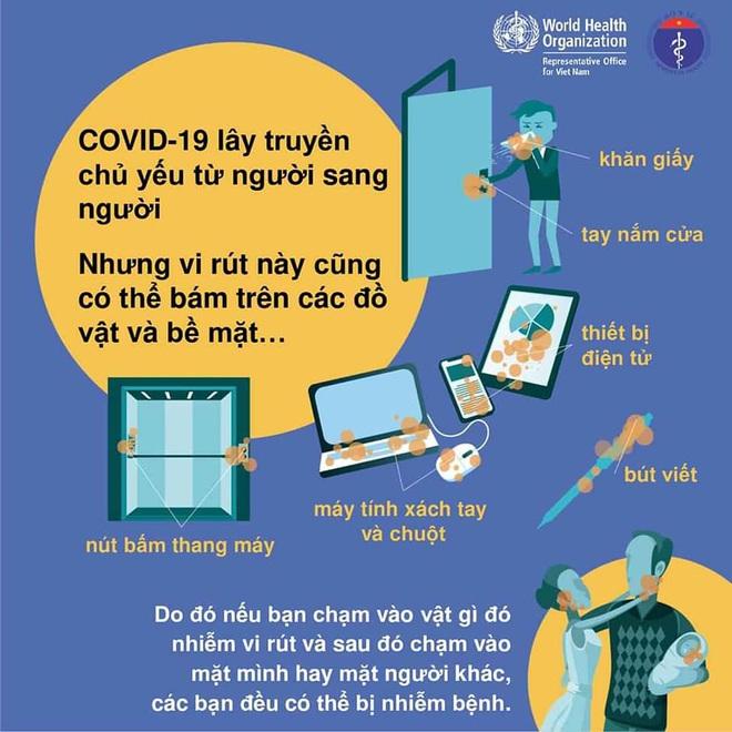 Bộ Y tế khuyến cáo: 5 cách giảm nguy cơ bị nhiễm Covid-19 - Ảnh 2.