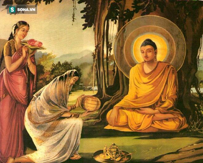 Mời Đức Phật đến nhà, cô gái bị coi là lẳng lơ, song chỉ với 1 câu hỏi Ngài đã hóa giải được tình thế - Ảnh 1.
