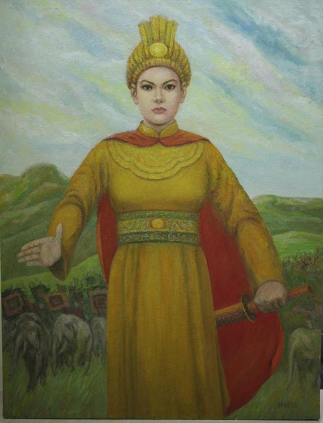 Lệ Hải Bà Vương - người khiến giặc Ngô cảm thán cầm giáo đánh hổ dễ, đối mặt Vua Bà khó - Ảnh 4.