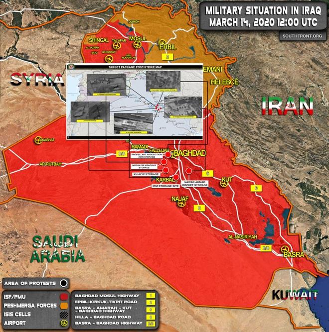 Hai tàu sân Mỹ cùng hàng nghìn tên lửa áp sát Iran - Căng thẳng chực chờ bùng nổ, Trung Đông dậy sóng - Ảnh 1.