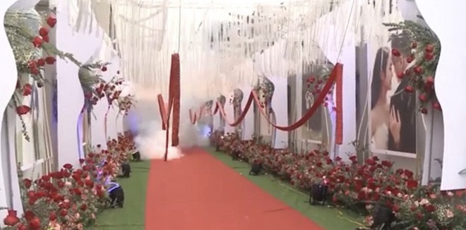 Thông tin mới vụ đốt pháo tại đám cưới ở huyện Sóc Sơn - Ảnh 1.