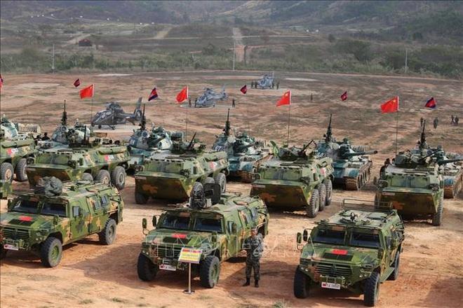 Campuchia - Trung Quốc diễn tập chung Rồng vàng 2020 bất chấp dịch COVID-19 - Ảnh 1.
