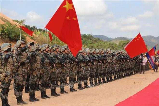 Campuchia - Trung Quốc diễn tập chung Rồng vàng 2020 bất chấp dịch COVID-19 - Ảnh 2.
