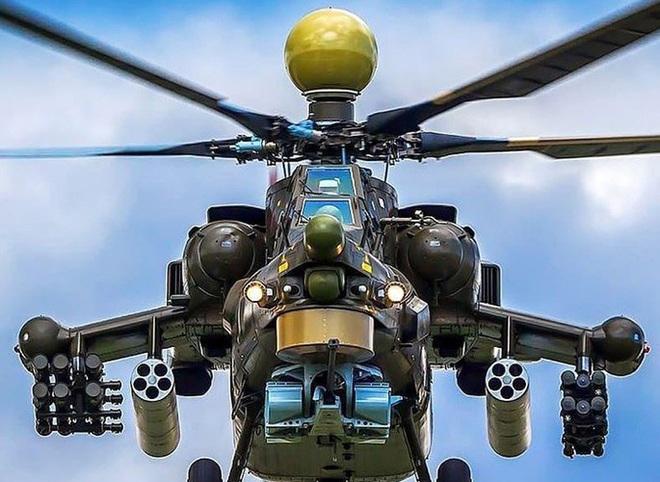 Khẩu pháo 30mm trên Mi-28 xé nát xe bọc thép phiến quân Syria - Ảnh 11.