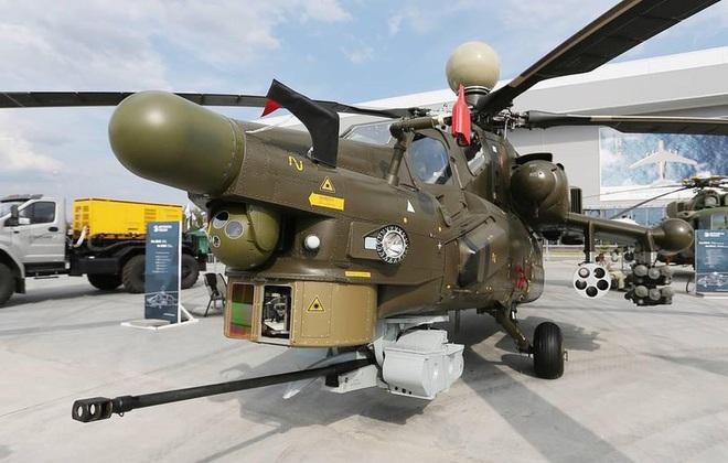 Khẩu pháo 30mm trên Mi-28 xé nát xe bọc thép phiến quân Syria - Ảnh 13.
